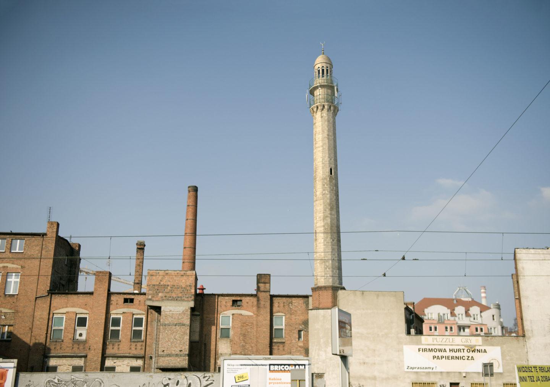 Building my own 'minaret'. Joanna Rajkowska